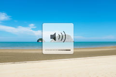 Listen to the sounds of nature. Royalty Free Stock Photo