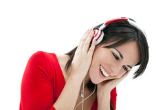 Listenin to music Royalty Free Stock Photography