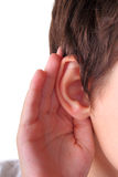 Listening Royalty Free Stock Photos