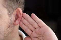 Listening Stock Photography