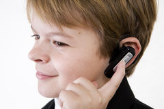 Listening closely Royalty Free Stock Images