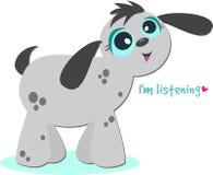 Listening Dog royalty free stock image