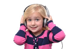 Listening Fun Royalty Free Stock Photos