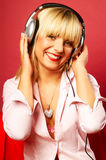 Listening music 2 Royalty Free Stock Image