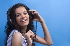 Listening music Royalty Free Stock Image