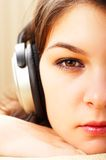 Listening Music Royalty Free Stock Image