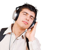 Listening music Royalty Free Stock Photos