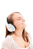 Listening my song Royalty Free Stock Photos