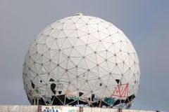 Listening station Teufelsberg Royalty Free Stock Photography
