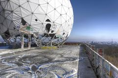 Listening station Teufelsberg Berlin Stock Photo