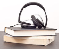 Listening to Books Stock Photos