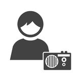 Listening to Poems Royalty Free Stock Images