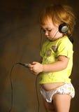 Listens music Royalty Free Stock Photos