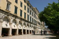 Liston är det mest berömda stället i staden av coren Arkivfoton