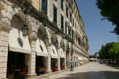 Liston est l'endroit le plus célèbre dans la ville du cor Photos stock