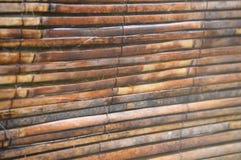 Listones de bambú Foto de archivo libre de regalías