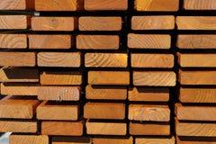 Listones de madera Foto de archivo libre de regalías