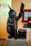 Listonosz, Postman Dwarf Wroc�aw Royalty Free Stock Images