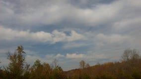 Listopad chmury 3 Zdjęcia Royalty Free