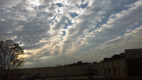 Listopad chmury 5 Obraz Royalty Free