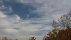 Listopad chmury 4 Zdjęcia Royalty Free