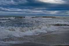 listopad morza niebo Obrazy Stock
