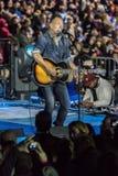 LISTOPAD 7, 2016, niezależność HALL, muzyk Bruce Springsteen wykonuje przy wybory wigilii wiecem dla Hillary Clinton uwypukla Bi Obrazy Stock