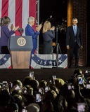 LISTOPAD 7, 2016, niezależność HALL, PFIL , PA - Bill Clinton, Chelsea i Przewodniczymy Fotografia Stock