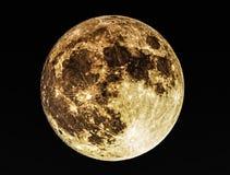 Listopad Super księżyc zdjęcie royalty free