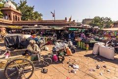 Listopad 06, 2014: Wprowadzać na rynek w centrum Jodhpur, India Zdjęcia Royalty Free