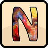 Listowa colour projekta sztuka obrazy royalty free