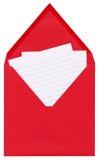 listowa czerwień Zdjęcie Royalty Free