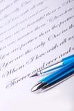 listowa miłość Obraz Stock