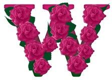 Listowa W kwiatu śliczna ilustracja Zdjęcia Royalty Free