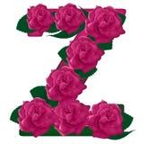 Listowa Z kwiatu śliczna ilustracja Fotografia Stock