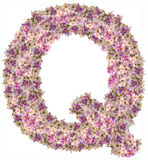 Listowy abecadło z kwiatu ABC pojęcia typ jako logo Obrazy Royalty Free