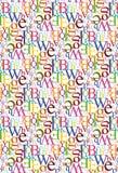 listowy deseniowy bezszwowy Zdjęcie Stock