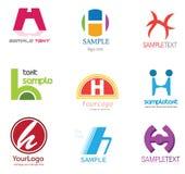 listowy H logo ilustracja wektor