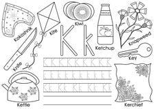 Listowy K abecadło anglicy marzną lekkich fotografii obrazki bierze technologię używać był Pisać praktyki i kolorystyki książce ilustracji