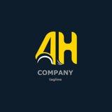 Listowy logo dla firmy imienia Zdjęcia Royalty Free