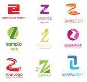 listowy logo z Zdjęcie Royalty Free