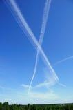 listowy niebo zdjęcia royalty free