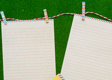 Listowy papier obraz royalty free