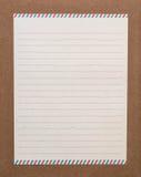 Listowy papier fotografia royalty free
