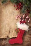 listowy Santa Zdjęcie Stock