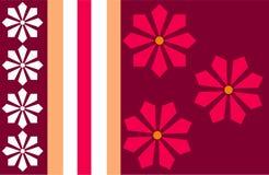 Listra da flor Imagens de Stock Royalty Free