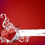 Listra do coração Imagem de Stock