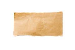 Listra do papel de empacotamento de Brown Fotos de Stock Royalty Free
