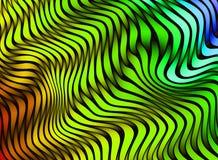 Listras abstratas da cor textura 3D colorida Fotos de Stock Royalty Free