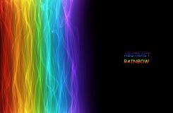 Listras abstratas do arco-íris Imagens de Stock